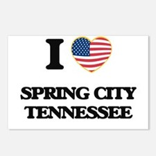 I love Spring City Tennes Postcards (Package of 8)