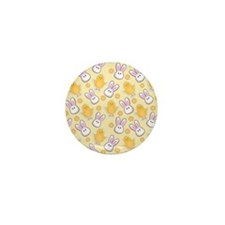 Bunny Business Mini Button (100 pack)