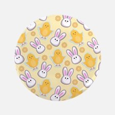 """Bunny Business 3.5"""" Button (100 pack)"""