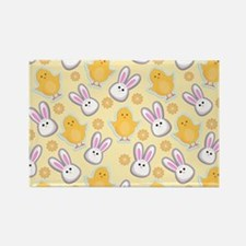 Bunny Business Rectangle Magnet (100 pack)