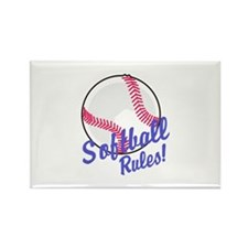 Softball Rules! Magnets