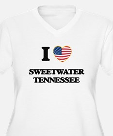 I love Sweetwater Tennessee Plus Size T-Shirt