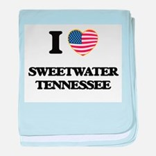I love Sweetwater Tennessee baby blanket