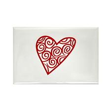 Heart Outline Magnets