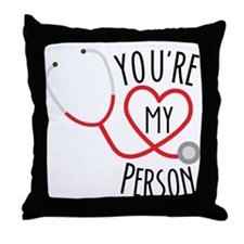 "Grey's Anatomy"" You're My Person Throw Pillow"