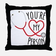 Greys Anatomy Youre My Person Throw Pillow