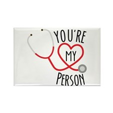 "Grey's Anatomy"" You're My Person Rectangle Magnet"