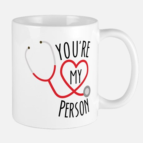 Grey's Anatomy You're My Person Mug