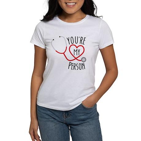 Greys Anatomy Youre My Person Women's T-Shirt by GreysAnatomy8