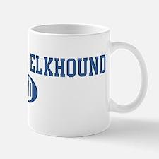 Norwegian Elkhound dad Mug