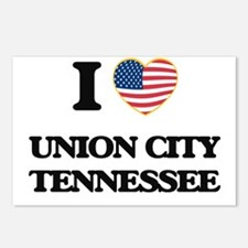 I love Union City Tenness Postcards (Package of 8)