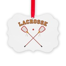 Lacrosse Sticks Ornament