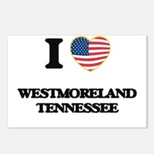 I love Westmoreland Tenne Postcards (Package of 8)