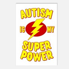 Autism is My Super Power Postcards (Package of 8)