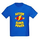 Autism Kids T-shirts (Dark)