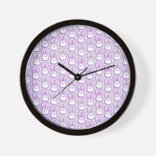 Bunny Wave Wall Clock