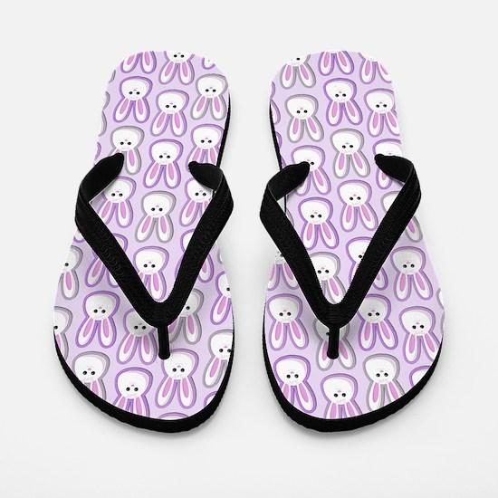 Bunny Wave Flip Flops