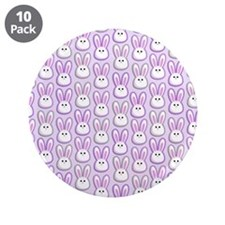 "Bunny Wave 3.5"" Button (10 pack)"