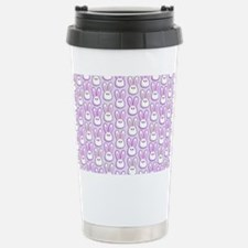 Bunny Wave Stainless Steel Travel Mug