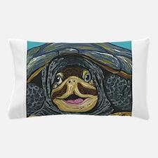 Smiling Turtle Pillow Case
