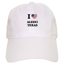 I love Aledo Texas Baseball Cap