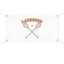 Lacrosse Sticks Banner