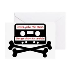 Driver picks the music. Greeting Card