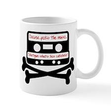 Driver picks the music. Mug