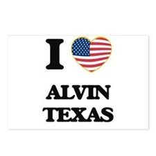 I love Alvin Texas Postcards (Package of 8)