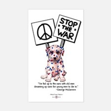 Stop the War! Rectangle Decal