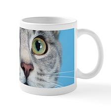 Beautiful Green Eyed Kitty Cat Mugs