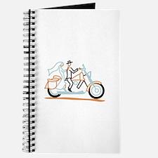 Bride and Groom Journal