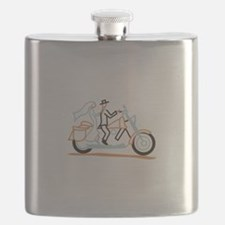Bride and Groom Flask