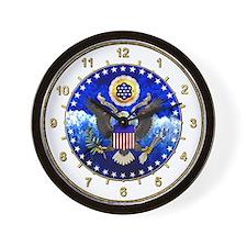 US Seal Wall Clock