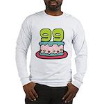 99 Year Old Birthday Cake Long Sleeve T-Shirt