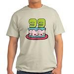 99 Year Old Birthday Cake Light T-Shirt