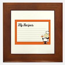 Recipe Card Framed Tile
