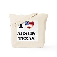 I love Austin Texas Tote Bag