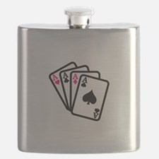 Four Aces Flask