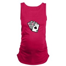 Four Aces Maternity Tank Top