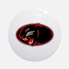 Panther Logo Ornament (Round)