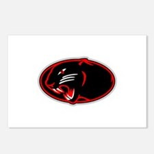 Panther Logo Postcards (Package of 8)