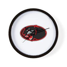 Panther Logo Wall Clock