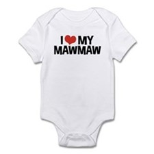 I Love My MawMaw and PawPaw Infant Bodysuit
