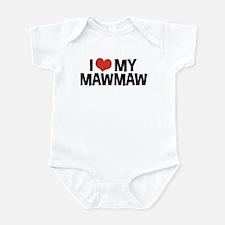 I Love My MawMaw and PawPaw Infant Bodysuit