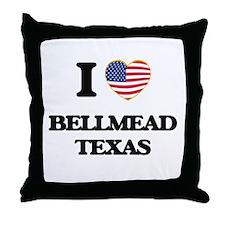 I love Bellmead Texas Throw Pillow