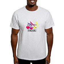 I Love Music/Notes T-Shirt