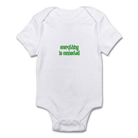 Everything is connected Infant Bodysuit