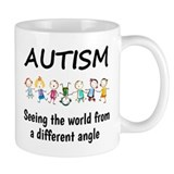 Autism seeing the world Drinkware