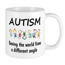 Autism...seeing the world from a differ Mug